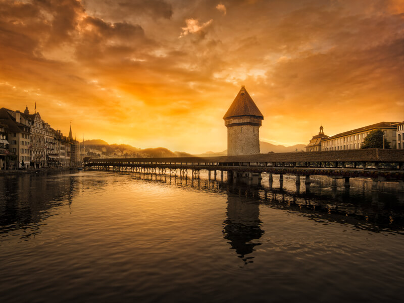Chapel Bridge - Lucerne