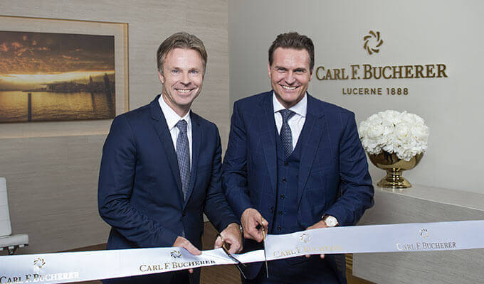 Carl F. Bucherer opens its center of excellence in Lengnau.