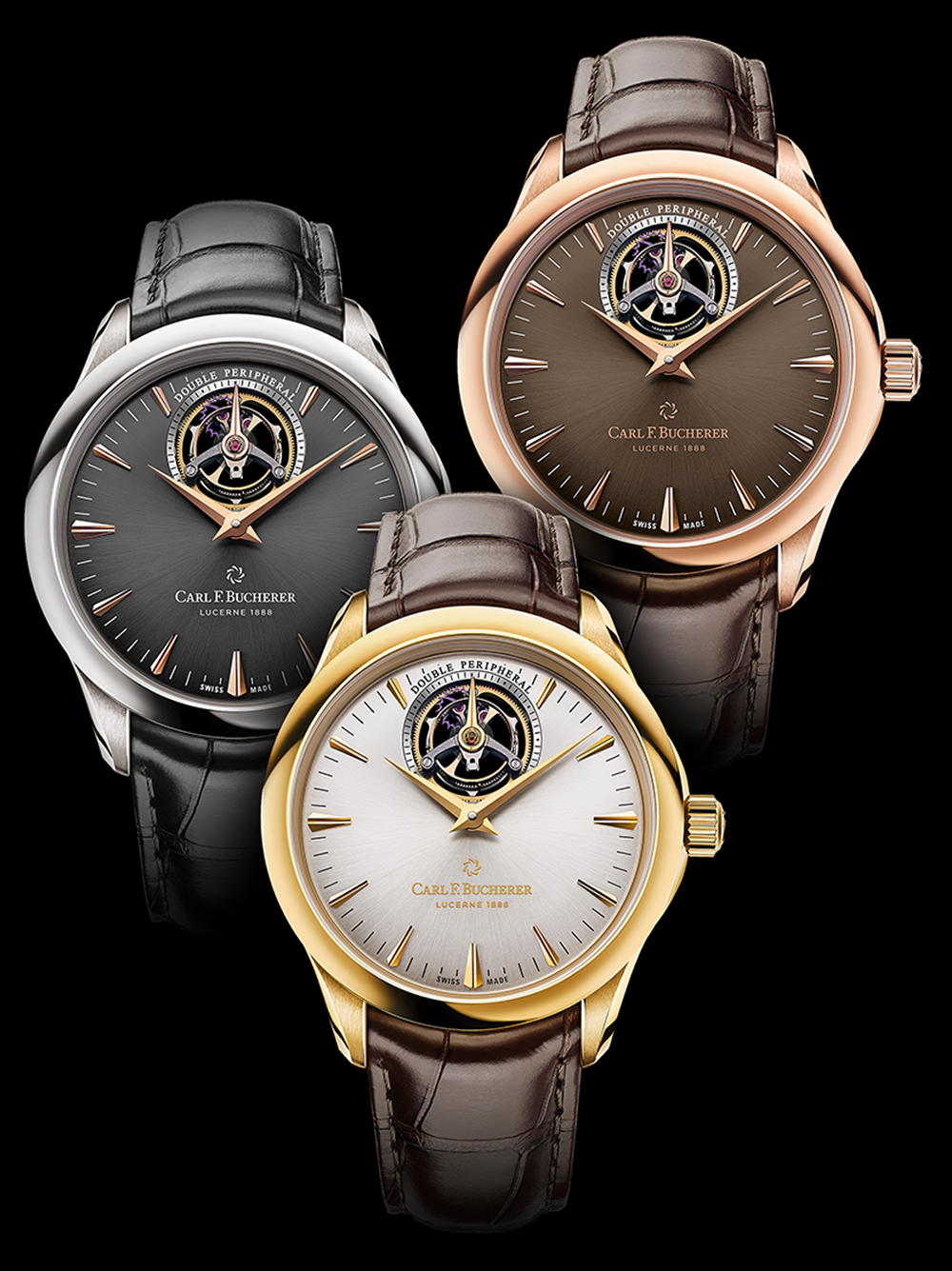 Manero Tourbillon DoublePeripheral