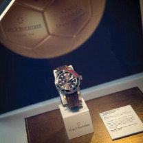 Official Timekeeper of the Swiss National Football Teams.