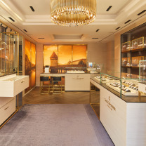 Grand opening of new boutique in Hong Kong
