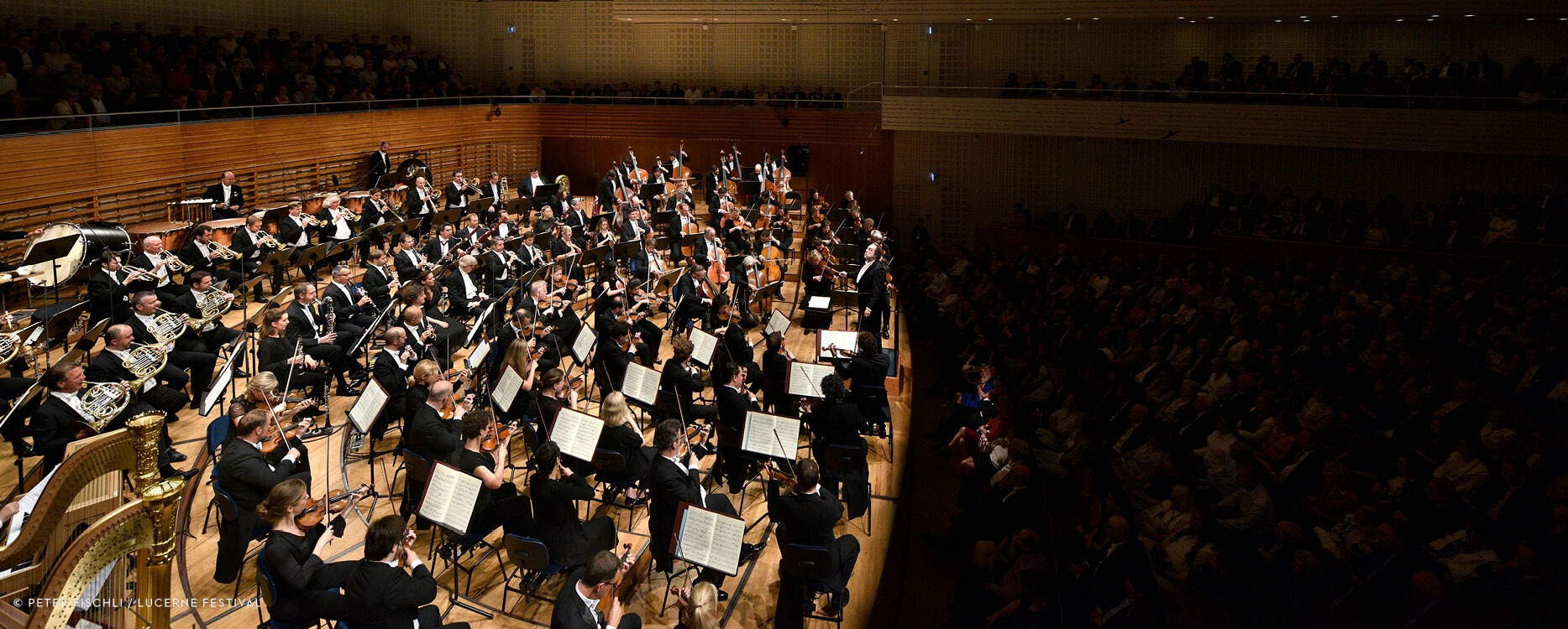 Carl F. Bucherer and the Lucerne Festival Orchestra